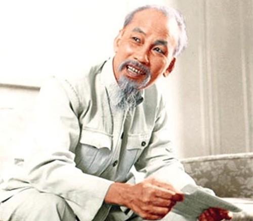 Chủ tịch Hồ Chí Minh (ảnh: TL)