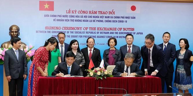 Nhật Bản viện trợ gần 500 tỷ đồng cho Việt Nam phòng, chống COVID-19 ảnh 2