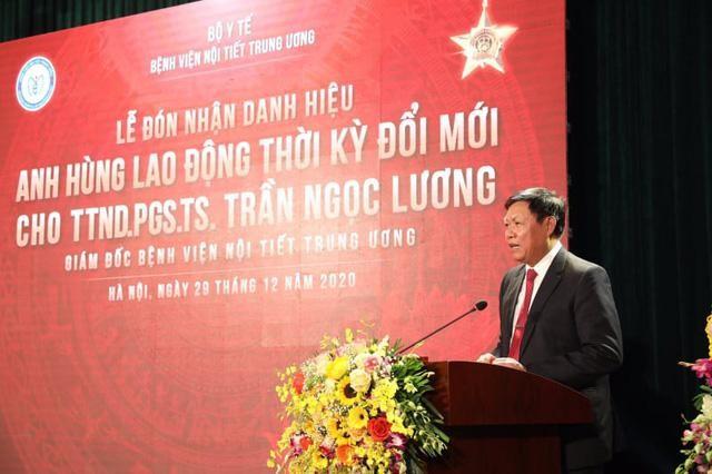 Kỷ lục gia Trần Ngọc Lương nhận danh hiệu Anh hùng Lao động ảnh 1