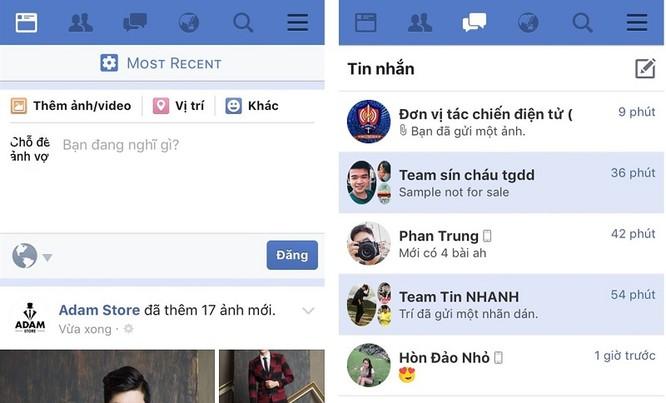 Mẹo gộp Facebook và Messenger trên iOS ảnh 4