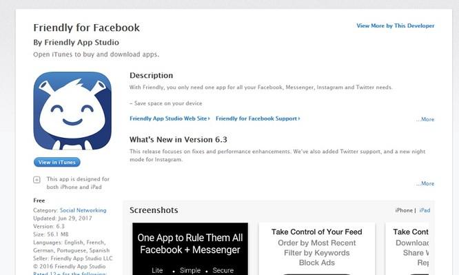 Mẹo gộp Facebook và Messenger trên iOS ảnh 1