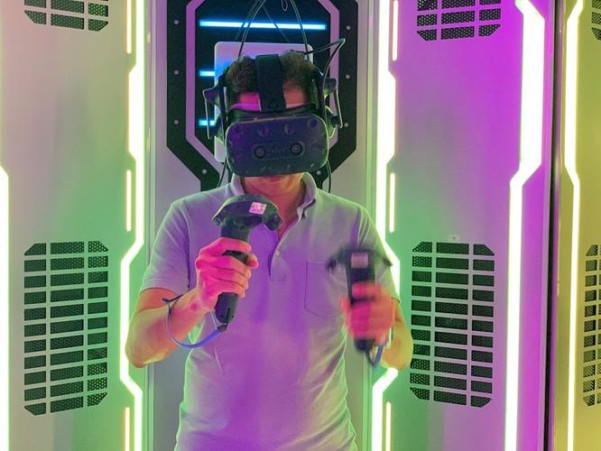 Game thực tế ảo quy mô lớn đầu tiên của Việt Nam ra mắt ảnh 1