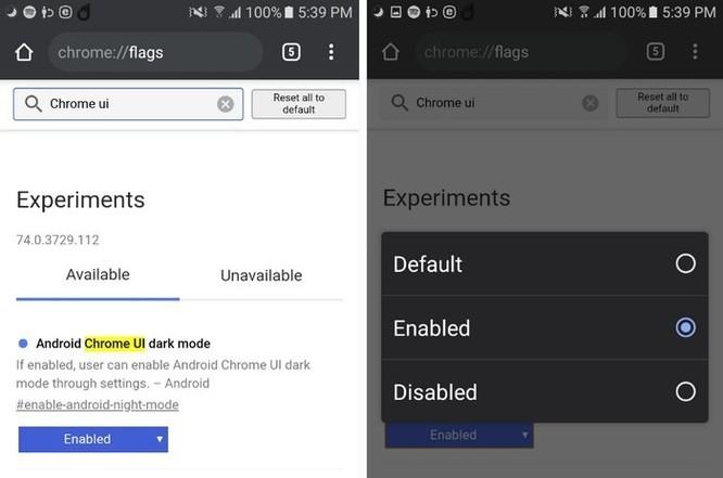 Mẹo bật Dark mode cho Chrome trên Android ảnh 3