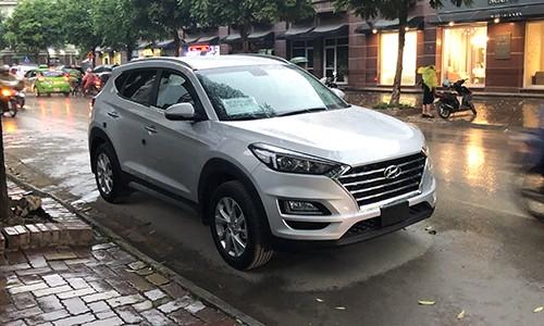 Hyundai Tucson mới xuất hiện trên đường phố Hà Nội ảnh 1