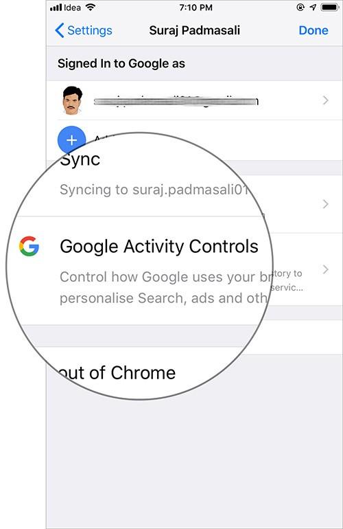 Cách tự động xóa lịch sử vị trí, dữ liệu ứng dụng và web của Google ảnh 4