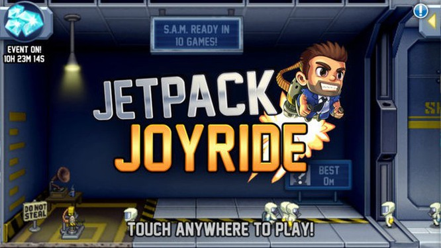 Jetpack Joyride: Tựa game mobile Rambo thời 4.0 siêu hấp dẫn ảnh 1