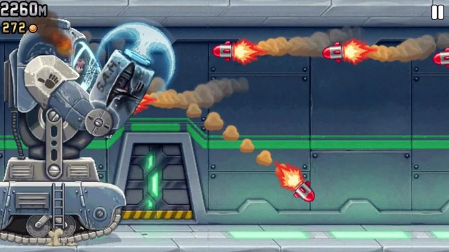 Jetpack Joyride: Tựa game mobile Rambo thời 4.0 siêu hấp dẫn ảnh 3