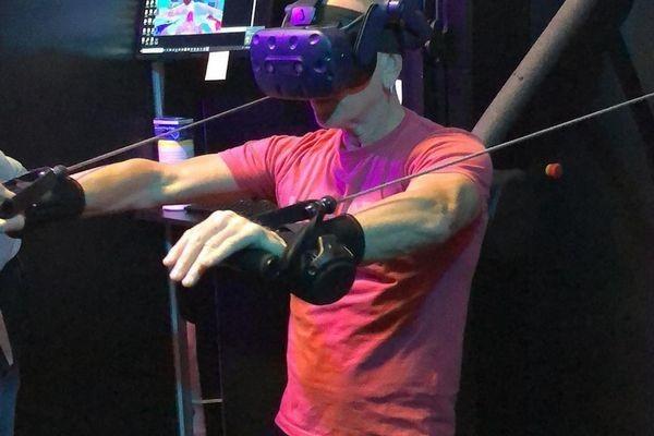 Khám phá phòng tập GYM VR đầu tiên trên thế giới ảnh 1