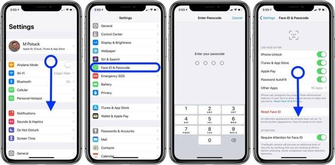 Cách đặt mật khẩu dạng ký tự để mở khóa iPhone, iPad ảnh 2
