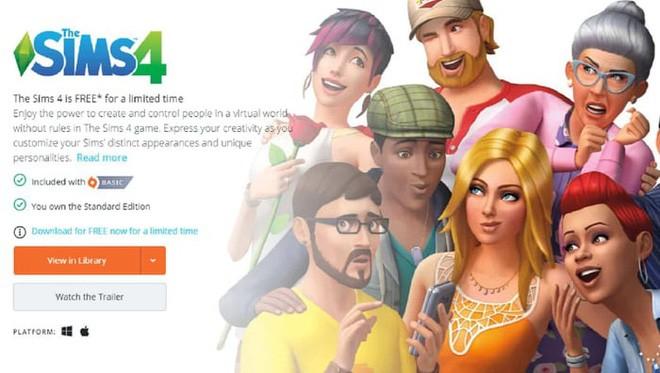 Có thể tải về miễn phí The Sims 4 trên cả Mac lẫn Windows, hạn cuối 28/5 ảnh 2