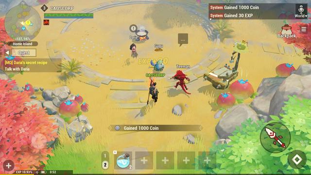 Dawn of Isles - Game mobile nhập vai ấn tượng mới mở thử nghiệm ảnh 2