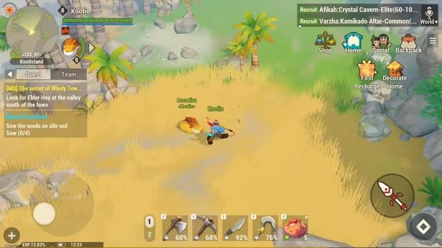 Dawn of Isles - Game mobile nhập vai ấn tượng mới mở thử nghiệm ảnh 4