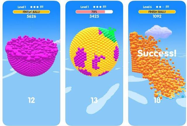 Ball Paint - Tựa game mobile siêu thư giãn xua tan ngày dài mệt mỏi ảnh 1