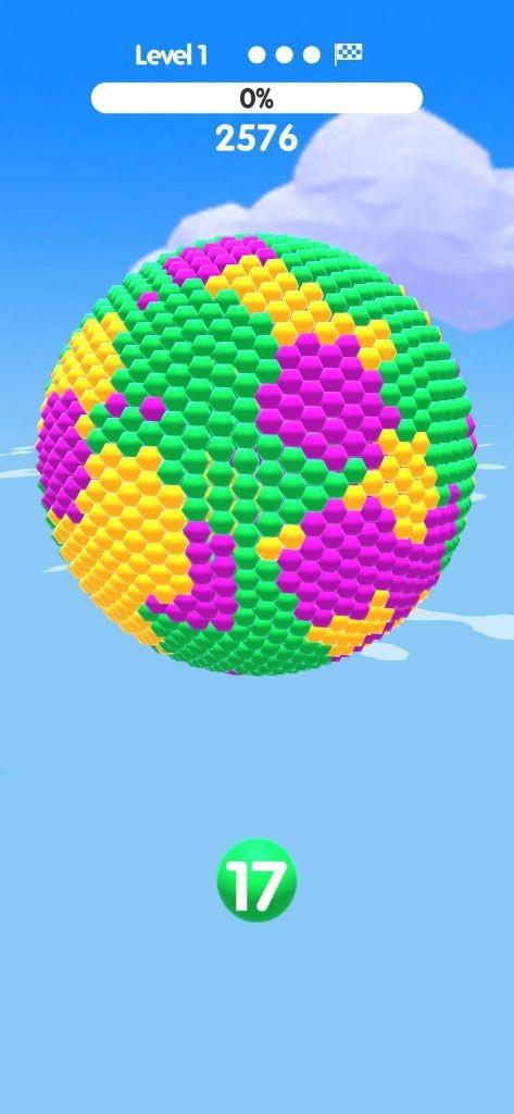 Ball Paint - Tựa game mobile siêu thư giãn xua tan ngày dài mệt mỏi ảnh 2