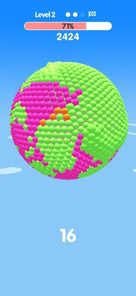 Ball Paint - Tựa game mobile siêu thư giãn xua tan ngày dài mệt mỏi ảnh 3