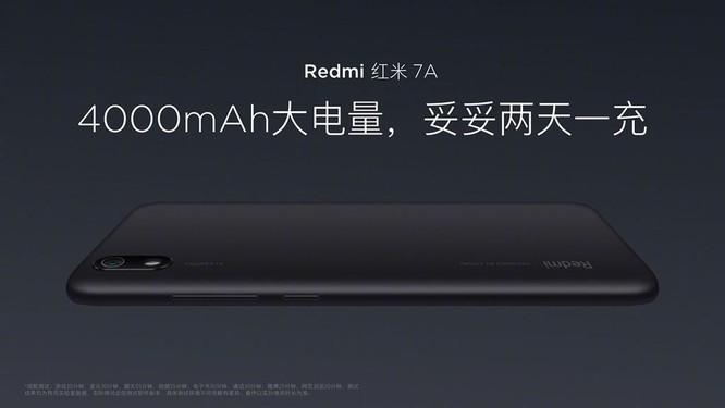 Xiaomi ra mắt Redmi 7A: gia tăng quân số ở phân khúc giá siêu rẻ ảnh 3