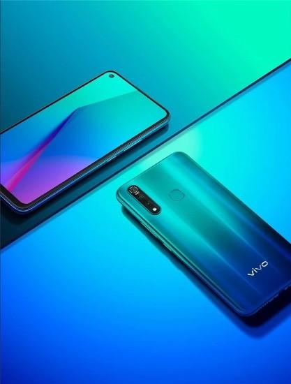 Vivo Z5x: Sẽ có màn hình đục lỗ, ba màu và SD710 ảnh 1