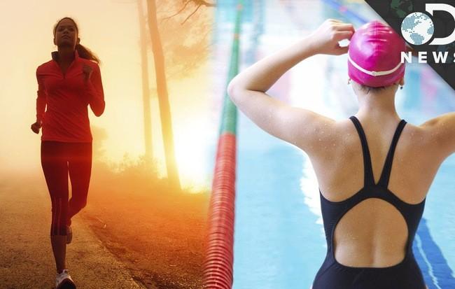 Vận động viên bơi lội hay chạy bộ: Ai có trái tim khỏe mạnh hơn? ảnh 2