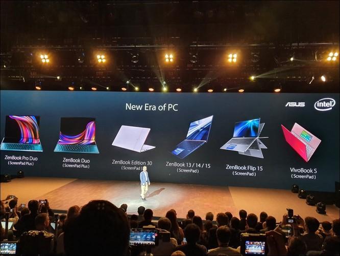 Toàn bộ dải laptop của Asus được giới thiệu tới thời điểm này.