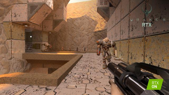 Quake II được làm lại với công nghệ Ray Tracing tuyệt đẹp, đã thế game còn phát hành miễn phí hoàn toàn ảnh 1