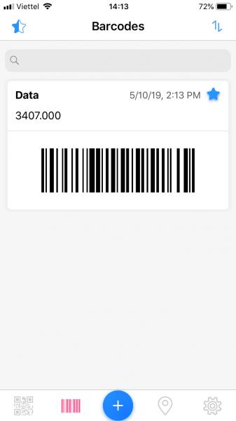 Dùng QRabber xem và tạo mã QR, mã vạch trên iPhone ảnh 5