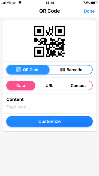 Dùng QRabber xem và tạo mã QR, mã vạch trên iPhone ảnh 6