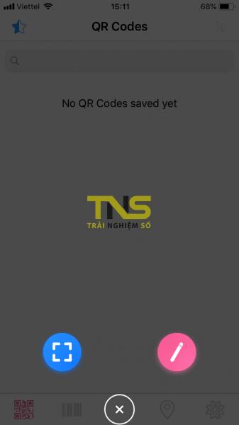 Dùng QRabber xem và tạo mã QR, mã vạch trên iPhone ảnh 1