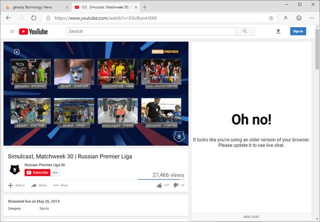 Google chặn không cho trình duyệt Edge mới của Microsoft truy cập thiết kế mới của YouTube ảnh 2