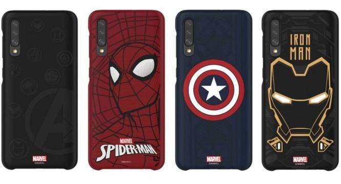 Samsung bán ốp lưng Marvel cho Galaxy A40, A50 và A70 ảnh 1
