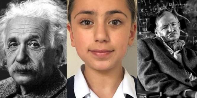 Bé gái có bộ óc thiên tài, IQ vượt cả Albert Einstein ảnh 1