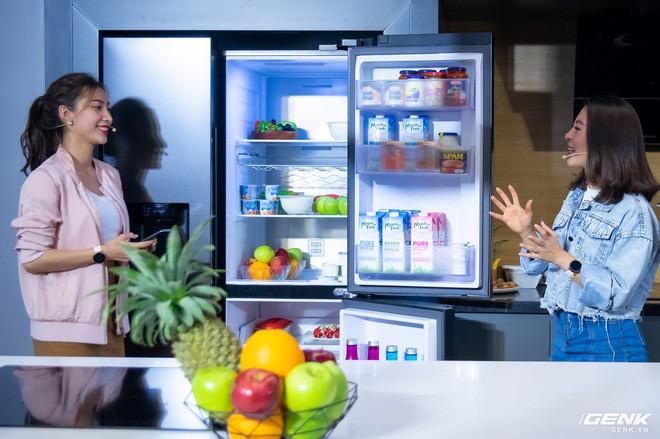 Đảm bảo thực phẩm luôn trong tình trạng tốt nhất dù bảo quản nhiều ngày là một cách bảo vệ sức khỏe người dùng đối với các thiết bị gia dụng như tủ lạnh