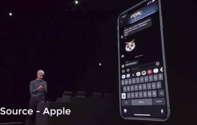 Apple đưa tính năng vuốt ngón tay trên bàn phím để nhập văn bản lên iOS 13 ảnh 1