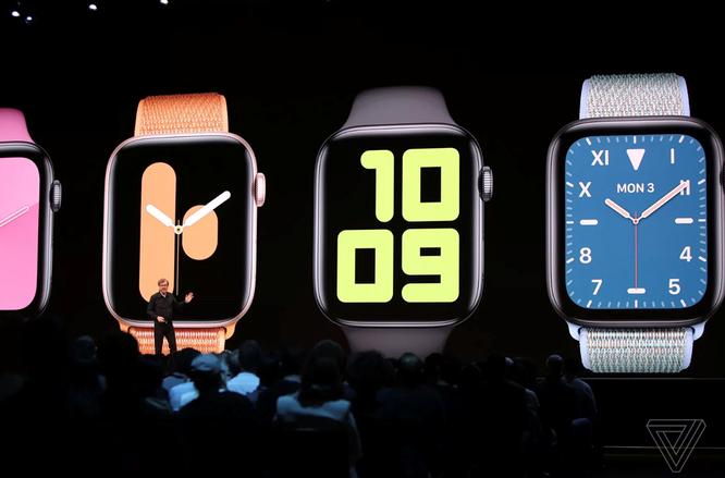6 cập nhật mặt đồng hồ và App Store cho Apple Watch ảnh 1