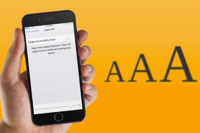 Cách tăng cỡ chữ trên iPhone và iPad để dễ đọc hơn ảnh 1
