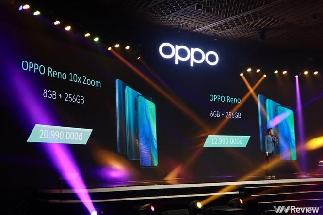 Oppo ra mắt Reno ở Việt Nam, giá 12,9 và 20,9 triệu đồng, bán từ 15/6 ảnh 1