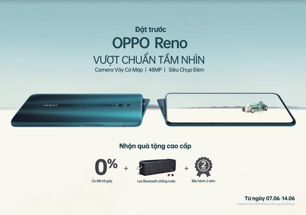 Nhiều ưu đãi dành cho chương trình đặt trước OPPO Reno phiên bản chuẩn ảnh 1