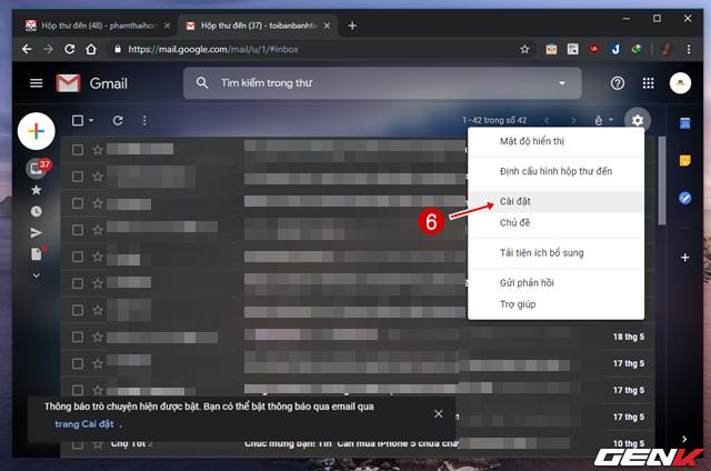 Giải pháp di chuyển toàn bộ mail từ Gmail cũ sang tài khoản mới ảnh 7