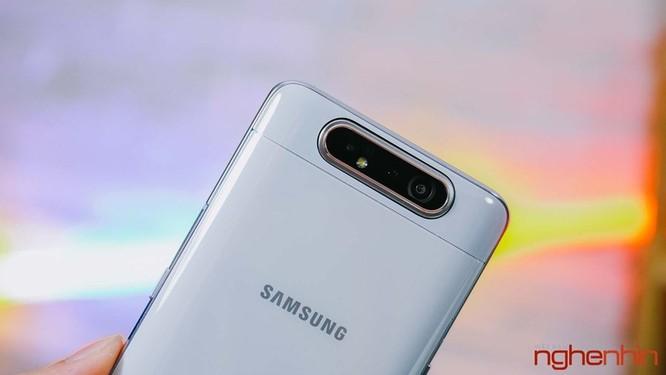 Trên tay Galaxy A80 giá 15 triệu đồng tại Việt Nam ảnh 4
