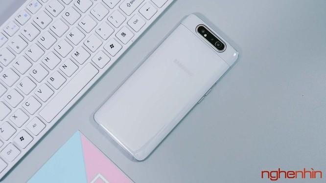 Trên tay Galaxy A80 giá 15 triệu đồng tại Việt Nam ảnh 1