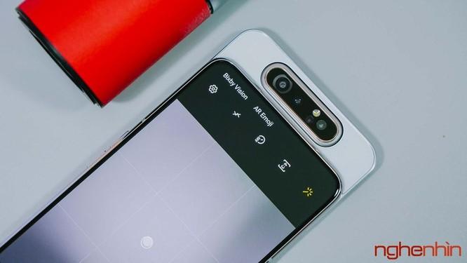 Trên tay Galaxy A80 giá 15 triệu đồng tại Việt Nam ảnh 6