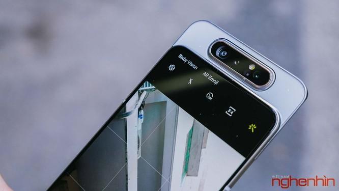 Trên tay Galaxy A80 giá 15 triệu đồng tại Việt Nam ảnh 10