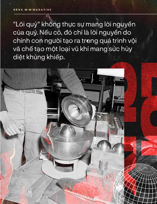 """""""Lõi quỷ"""", trái tim đầy nguyền rủa của quả bom nguyên tử thứ ba thả xuống Nhật Bản ảnh 8"""