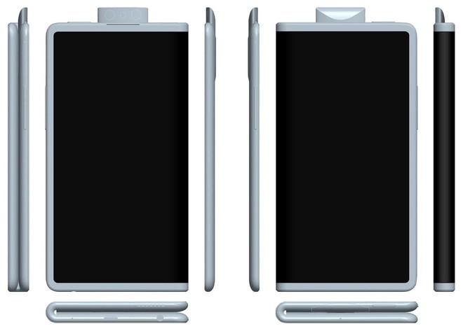 Oppo đệ trình sáng chế smartphone màn hình gập với camera trượt, 4 viền màn hình mỏng đều như iPad Pro - Ảnh 3.