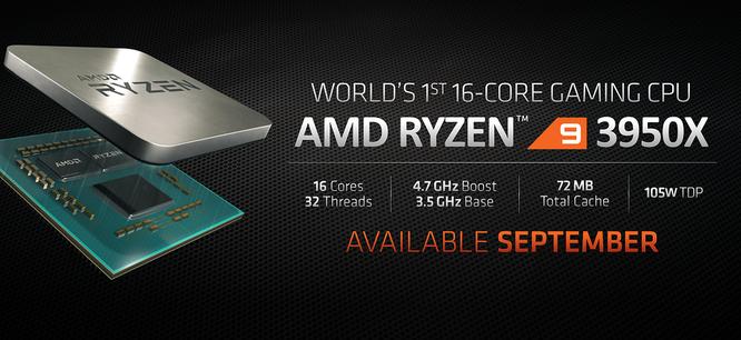 AMD Ryzen 9 3950X là CPU chơi game 16 nhân đầu tiên trên thế giới, giá 749 USD ảnh 2