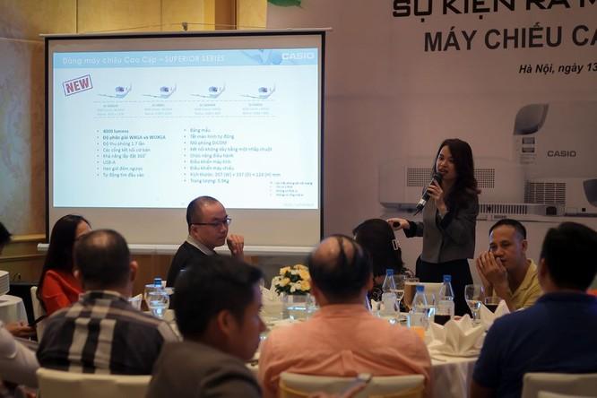 Casio ra mắt máy chiếu ES Series thế hệ mới tại Việt Nam ảnh 6