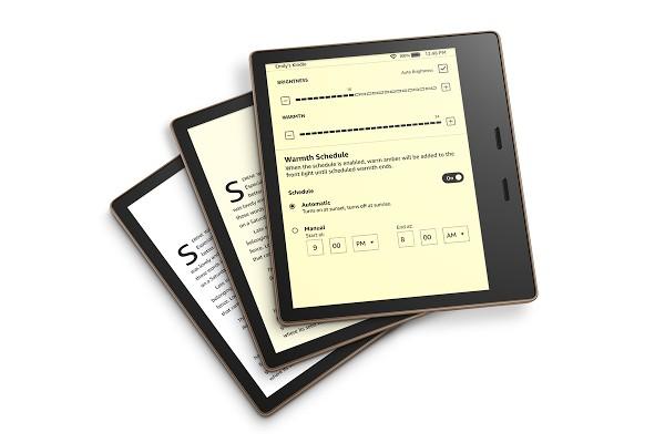Tính năng điều chỉnh nhiệt độ màu hiển thị nay đã có trên Kindle Oasis, hỗ trợ đọc sách ban đêm ảnh 1