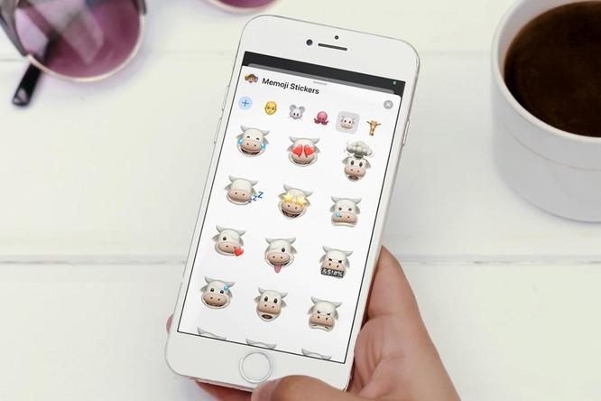 Cách sử dụng nhãn dán Memoji mới trên iOS 13 ảnh 1