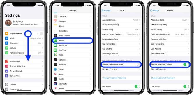 Cách tự động tắt tiếng cuộc gọi từ những số máy lạ trên iOS 13 ảnh 2
