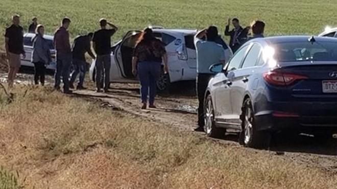Hàng trăm lái xe bị mắc kẹt vì Google Maps. Ảnh: The Denver Channel.