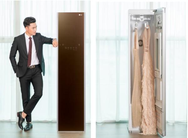 Là sản phẩm chăm sóc quần áo nhưng Styler có vẻ ngoài giống một món đồ nội thất sang trọng